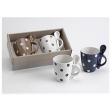 Coffret de 2 mugs petit pois