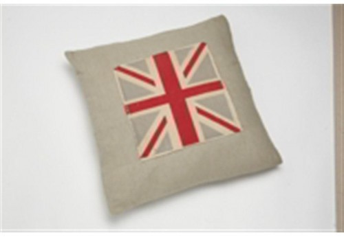 Coussin  union jack taupe 45X45