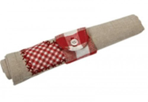 Lot de 6 Serviettes de table picnic