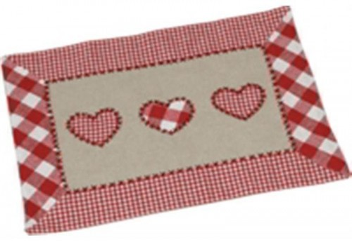 Lot de 4 Sets de table antitaches 33x45 picnic