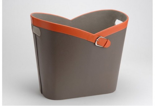 Porte Revue Orange Taupe  AMADEUS