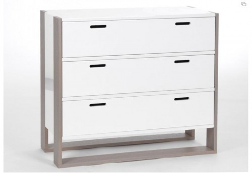 Commode 3 tiroirs soft Amadeus