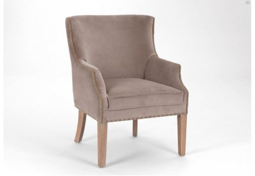 Fauteuil oliver taupe Amadeus