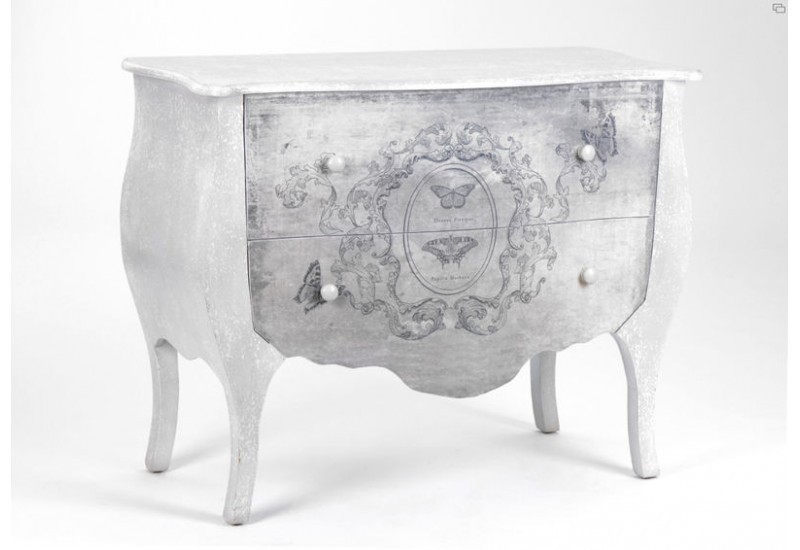Commode butterfly amadeus amadeus 11374 for Amadeus muebles