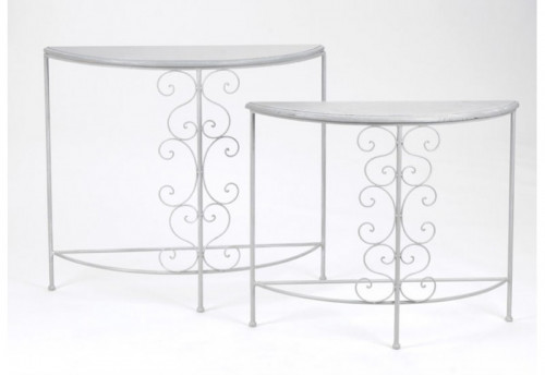 Set de 2 Consoles Arabesque AMADEUS