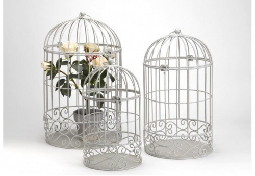 Set de 3 Cages Arabesque AMADEUS