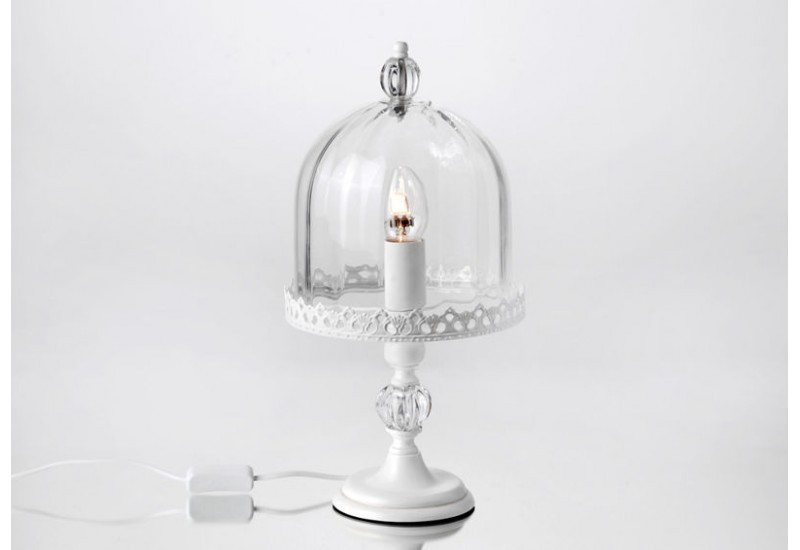 lampe cloche verre amadeus amadeus am 104681. Black Bedroom Furniture Sets. Home Design Ideas