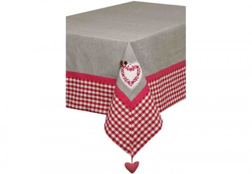 Nappe Rectangulaire 150X250 Brodee Patchouli