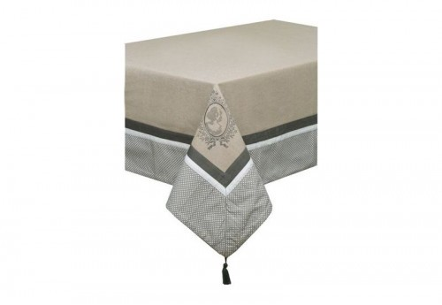 Nappe Rectangulaire 150X250 Brodee Antoinette