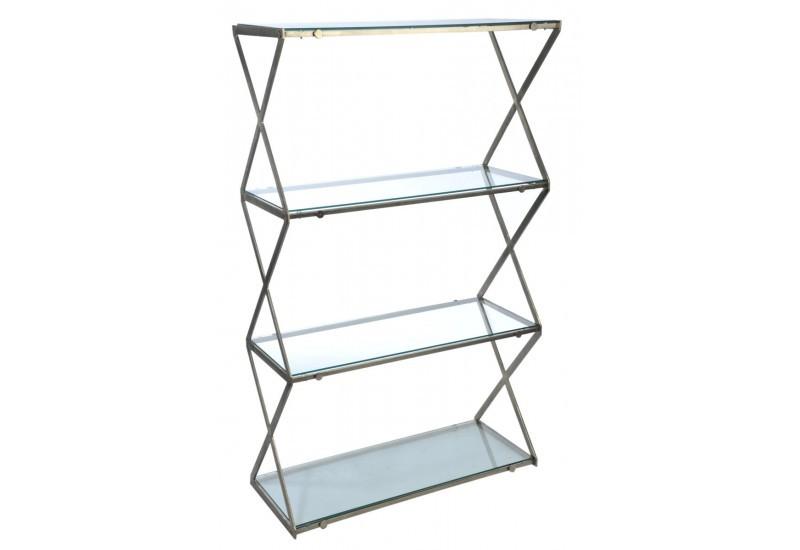 etagere metal 4 plateaux