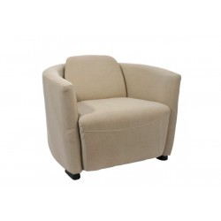 Fauteuil Extra Toile Beige 86X66Cm
