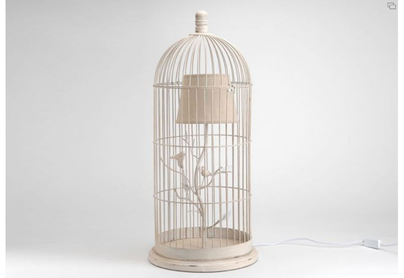 lampe cage oiseaux amadeus amadeus 12184. Black Bedroom Furniture Sets. Home Design Ideas