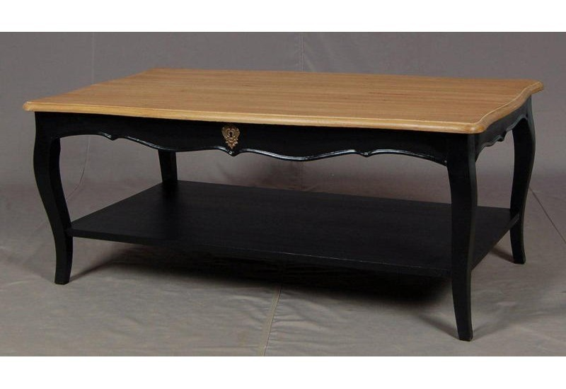 Table basse noire pauline amadeus amadeus 13723 - Tables basses noires ...