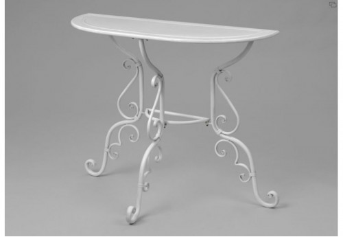 Table Demi-Lune Volutes AMADEUS