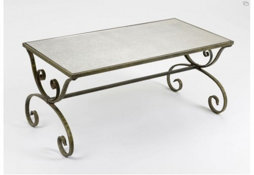 Table basse miroir Amadeus