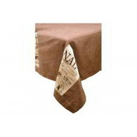 Nappe avec poches + 10 serviettes 250 x 150 cm