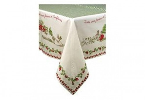 Nappe carrée 150 x 150 Strawberry