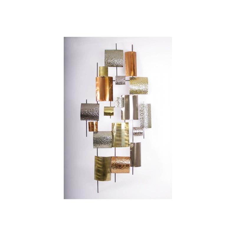 carres cuivre or bronze argent socadis 15267. Black Bedroom Furniture Sets. Home Design Ideas