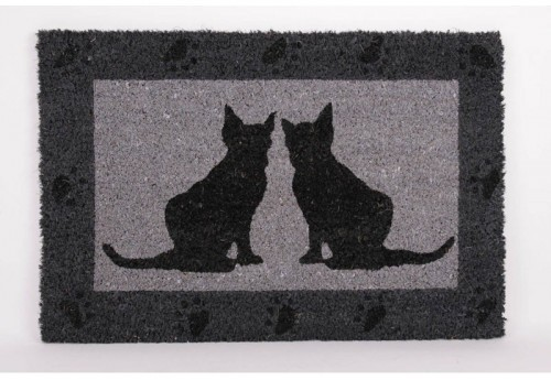 Paillasson Chat Miroir
