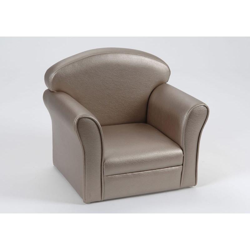 fauteuil club enfant bronze amadeus amadeus am 111025 sto. Black Bedroom Furniture Sets. Home Design Ideas