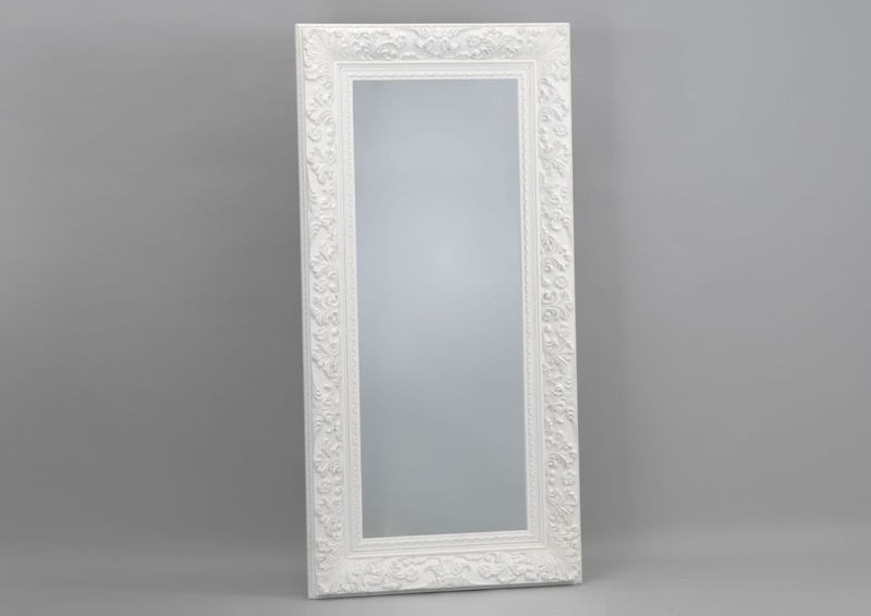 Miroir rectangulaire pas cher for Grand miroir long