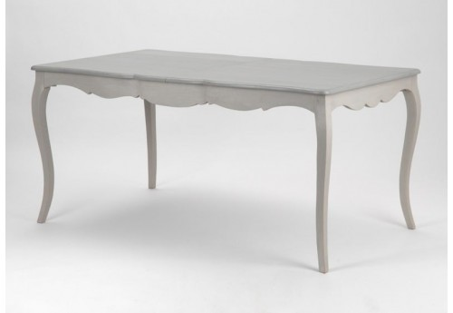 table manger avec rallonge bois c rus taupe gris grand. Black Bedroom Furniture Sets. Home Design Ideas