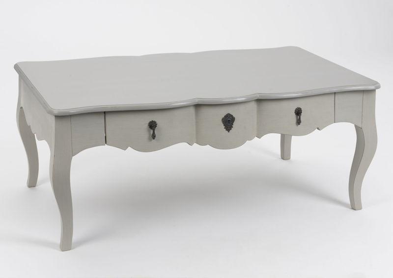 Table basse bois blanc c rus - Table basse bois blanc ceruse ...