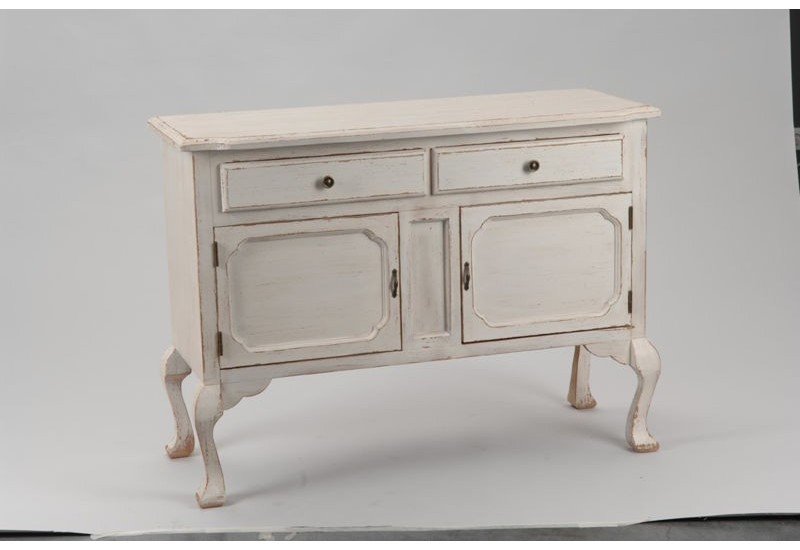 buffet c rus blanc 2 portes 2 tiroirs amadeus amadeus 16062. Black Bedroom Furniture Sets. Home Design Ideas