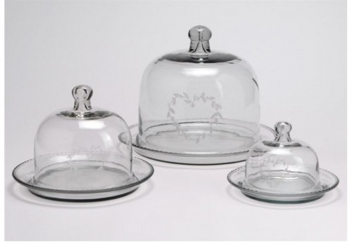 Set de 3 Cloches Cœur  AMADEUS