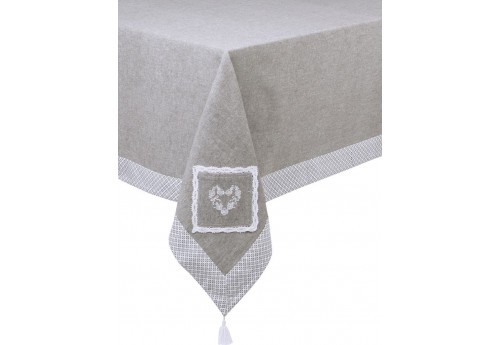 Nappe 150x300 brodee clemence ALIZEA