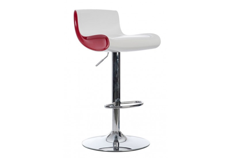 Chaise moderne rouge for Chaise de bar rouge