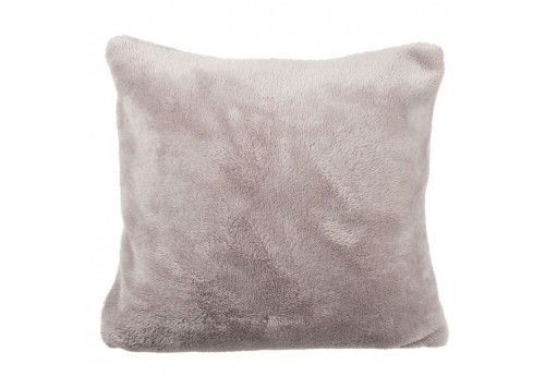 Coussin Polyester Beige Clair 40X40X10Cm J-Line