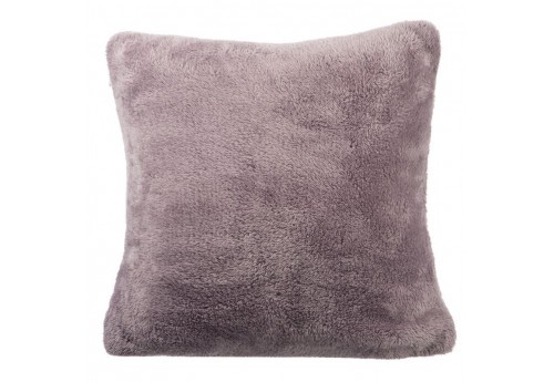 Coussin Polyester Taupe Clair 40X40X10Cm J-Line