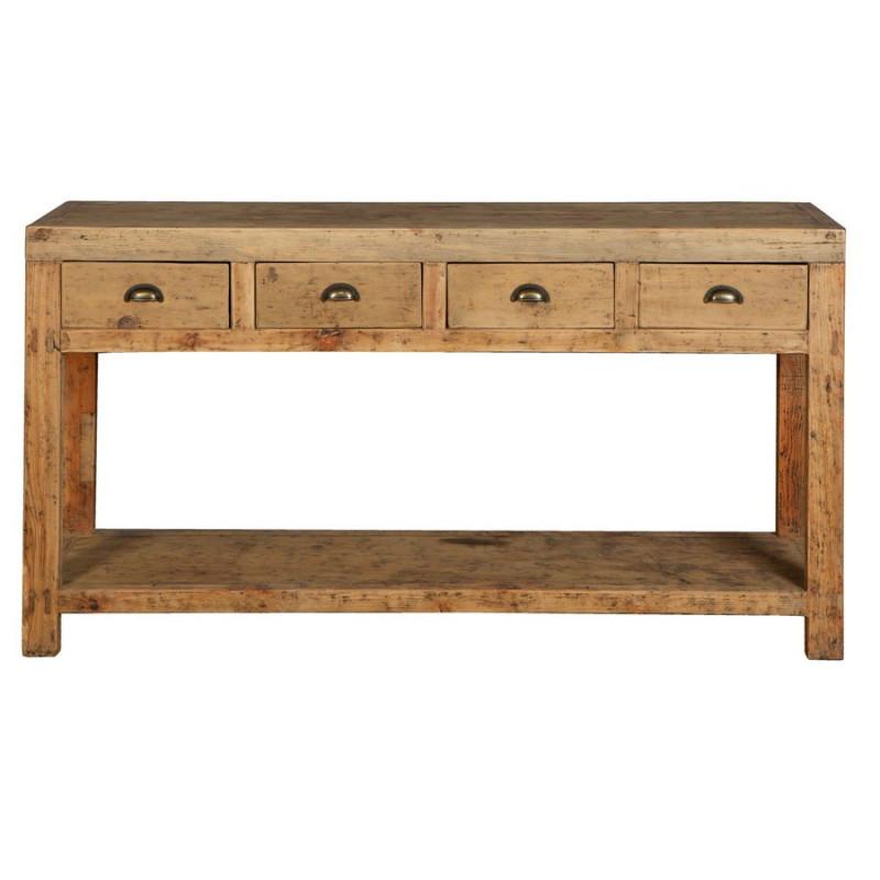 console drapier en bois brut atelier vical home vical home 17832. Black Bedroom Furniture Sets. Home Design Ideas