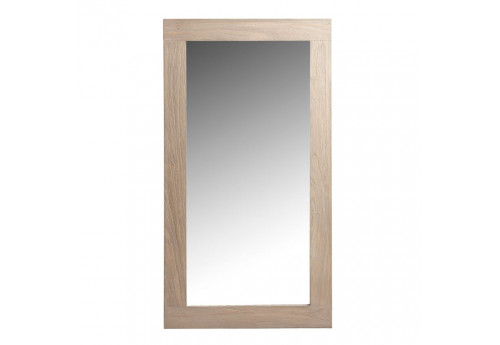 miroir rom o rectangulaire en bois naturel vical home vical home 17952. Black Bedroom Furniture Sets. Home Design Ideas