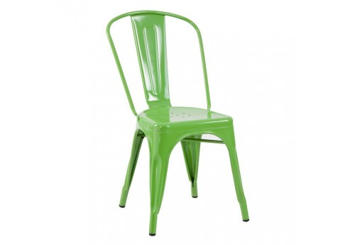 chaise bistrot vernis vert Vical Home