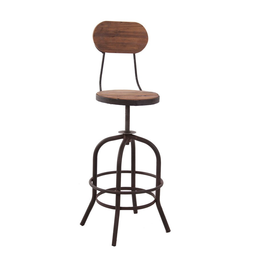 tabouret de bar metal industriel great tabouret bar industriel bar factory dossier tabouret de. Black Bedroom Furniture Sets. Home Design Ideas