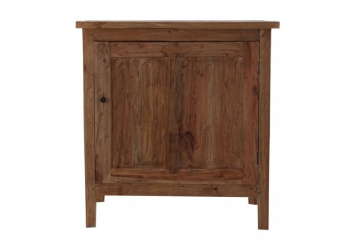 buffet bas campagne chic 1 porte en bois massif vical home vical ho. Black Bedroom Furniture Sets. Home Design Ideas