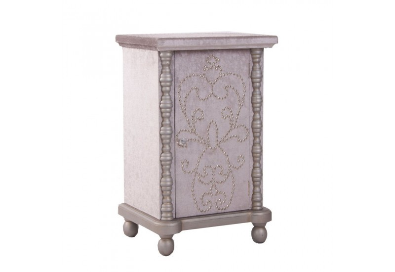 Table de chevet orientale 1 porte vical home vical home 17871 for Table de chevet orientale