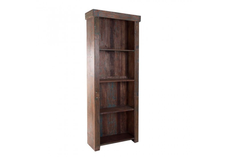 Etag re en bois exotique 4 tag res vical home vical home 17991 - Etagere bois exotique ...