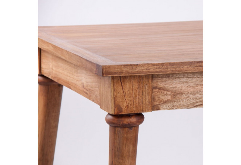 Table A Manger En Bois Of Table Manger Moderne En Bois Exotique Style Scandinave
