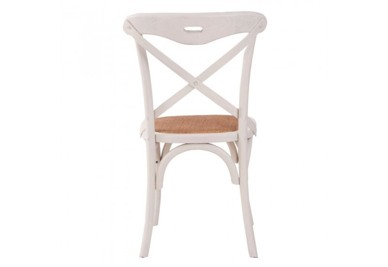 Chaise bistrot blanche vical home vical home 17911 - Chaise blanche de cuisine ...