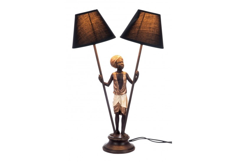lampe a poser style africain