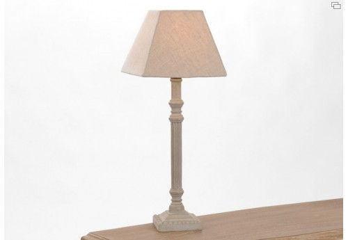 Lampe alice charme chic grise amadeus
