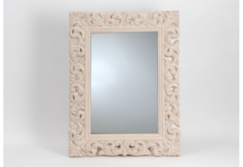 Grand miroir baroque tr s grand miroir baroque ovale dor for Grand miroir blanc baroque
