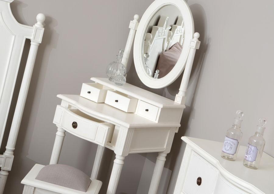emejing coiffeuse romantique blanche photos. Black Bedroom Furniture Sets. Home Design Ideas
