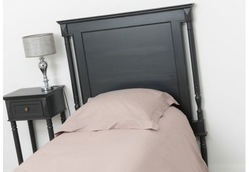 t te de lit 90 cm noire bruges amadeus amadeus 19610. Black Bedroom Furniture Sets. Home Design Ideas