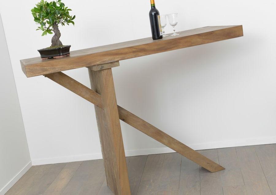 Table Bar En Bois Massif Meh Nature Amadeus Amadeus Am 115880