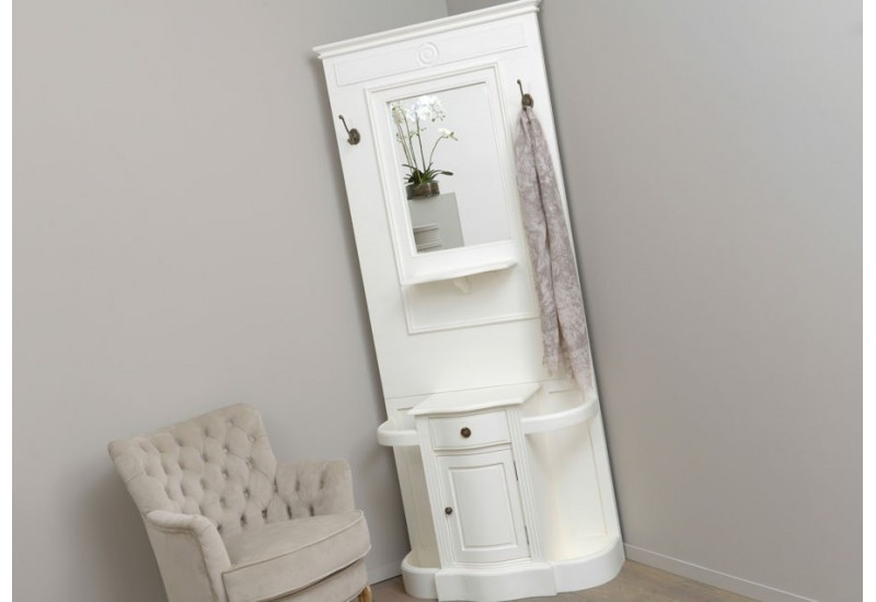 meuble vestiaire d 39 entr e e shabby chic agate amadeus amadeus 19868. Black Bedroom Furniture Sets. Home Design Ideas