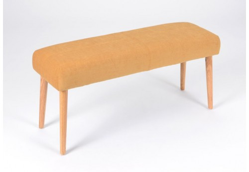 Banquette scandinave forme cloud moutarde amadeus